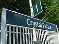 Crystal Palace stn Southern signage.jpg