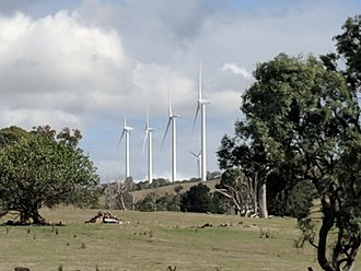 Cullerin Range Wind Farm - Cullerin Range Wind Farm from Cullerin