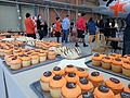 Cupcakes and sandwiches at the celebration (8655984311).jpg