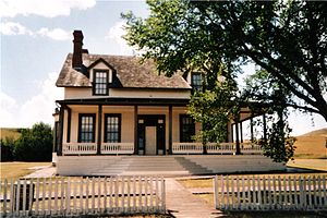Fort Abraham Lincoln - Reproduction of Custer's House
