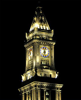 Custom House Tower - Customs House Tower clock