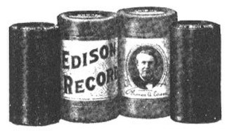 Comparison of recording mediums - Image: Cylinder Records W Package