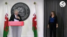 Datei:Cynhadledd i'r wasg gyda'r Prif Weinidog Mark Drakeford - Press conference with the First Minister.webm