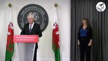 File: Cynhadledd i'r wasg gyda'r Prif Weinidog Mark Drakeford - Conferenza stampa con il Primo Ministro.webm