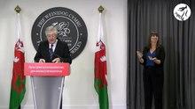 Dosya:Cynhadledd i'r wasg gyda'r Prif Weinidog Mark Drakeford - First Minister.webm ile basın toplantısı
