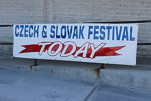 Czech Americans - Czech and Slovak Heritage Festival in Parkville, Maryland, October 2014.