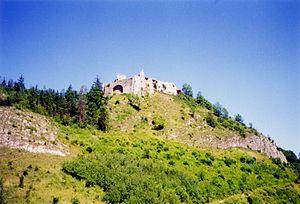 Czorsztyn Castle in 1994.jpg