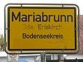 D-BW-Eriskirch-Mariabrunn - Ortsschild 017.JPG