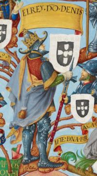 D. Dinis I de Portugal - The Portuguese Genealogy (Genealogia dos Reis de Portugal).png