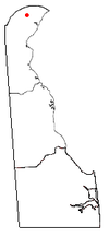 Location of Greenville, Delaware
