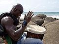 Dakar-Djembé sur la plage.jpg