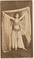 Dancer holding shawl above head, from the Actresses series (N668) MET DPB869878.jpg