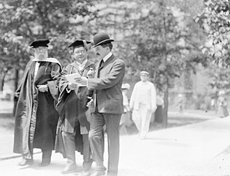 Daniel Coit Gilman - Gilman and University of Chicago president William Rainey Harper, 1903
