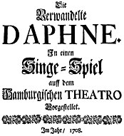 The transformed Daphne