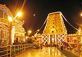 Dasara Navaratri decorations Kudroli Temple Mangalore Karnataka.jpg