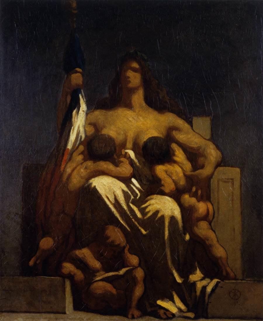 Daumier République