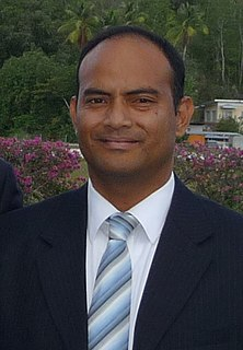 David Adeang Speaker of the Parliament of Nauru