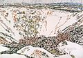 David Milne - The Twins Crater, Vimy Ridge.jpg