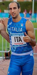 Davide Re Italian sprinter