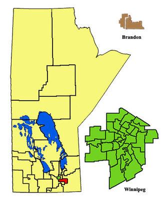 Dawson Trail (electoral district) - Image: Dawson Trail 2011