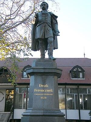 Ferenc Deák - Statue of Deák in Zalaegerszeg
