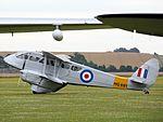 De Havilland DH89 Dragon Rapide G-AIYR - Flying Legends 2016 (27611857733).jpg