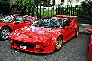 De Tomaso Pantera - De Tomaso Pantera GT5, pictured in London