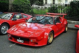 De Tomaso Pantera - De Tomaso Pantera GT5, pictured in London