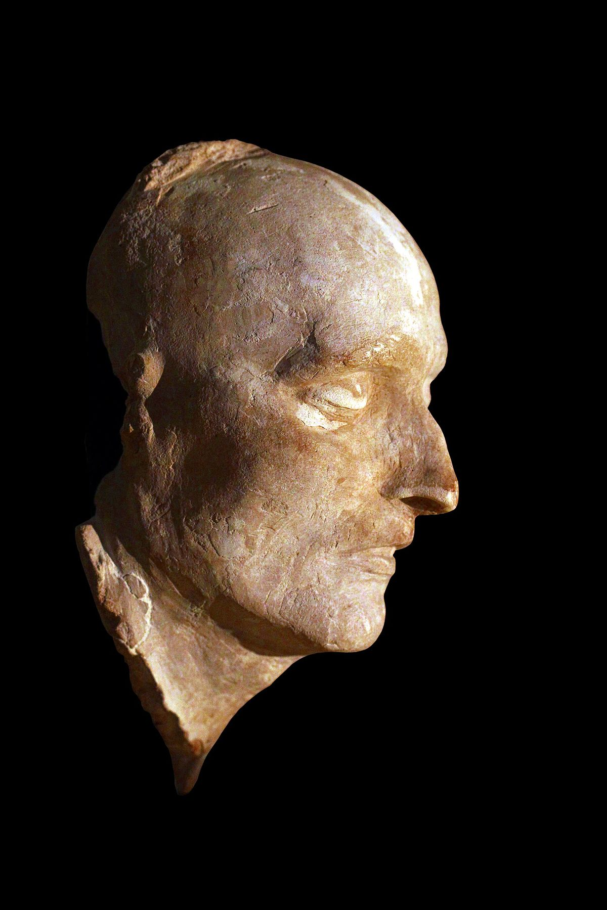 Favori Masque mortuaire de Napoléon Ier — Wikipédia ZE89