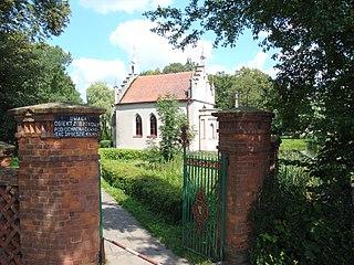 Dębieniec Village in Kuyavian-Pomeranian, Poland