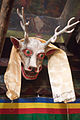 Deer mask in the Lupra gompa (4524204648).jpg