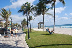 Deerfield Beach pwani