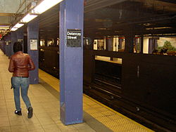 Delancey Street Subway Station by David Shankbone.JPG