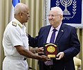 Delegation of National Defence College of india in a meeting with Reuven Rivlin president of Israel (8071).jpg