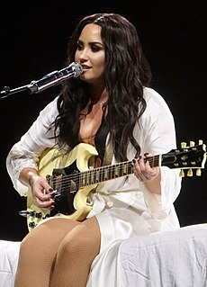 Demi Lovato American singer, actress, and author