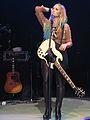 Demi Lovato white guitar.JPG