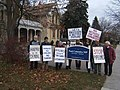 Demonstration outside Paul Calandra's office (10949780744).jpg