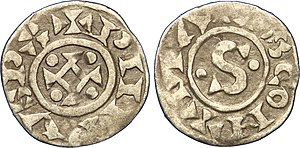 Philip I of France - 2nd type denier during Philip I