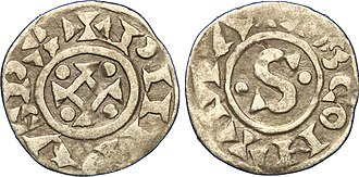 Philip I of France - 2nd type denier under Philip I