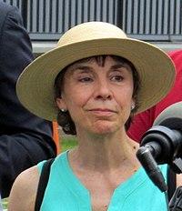 Denise Provost at Assembly station opening, September 2014.JPG