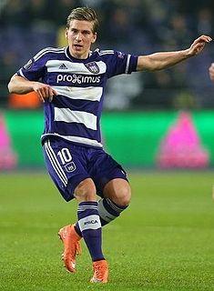 Dennis Praet Belgian footballer