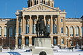 Des Moines Iowa 20090110 State Capitol Statue.JPG