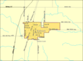 Detailed map of Colony, Kansas.png