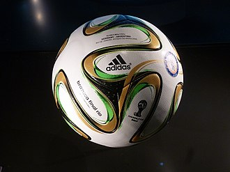 Adidas Brazuca - The Adidas Brazuca Final Rio used in the 2014 FIFA World Cup Final.