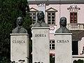Deva 2011 - Horea, Closca and Crisan Statues in Front of Magna Curia.jpg