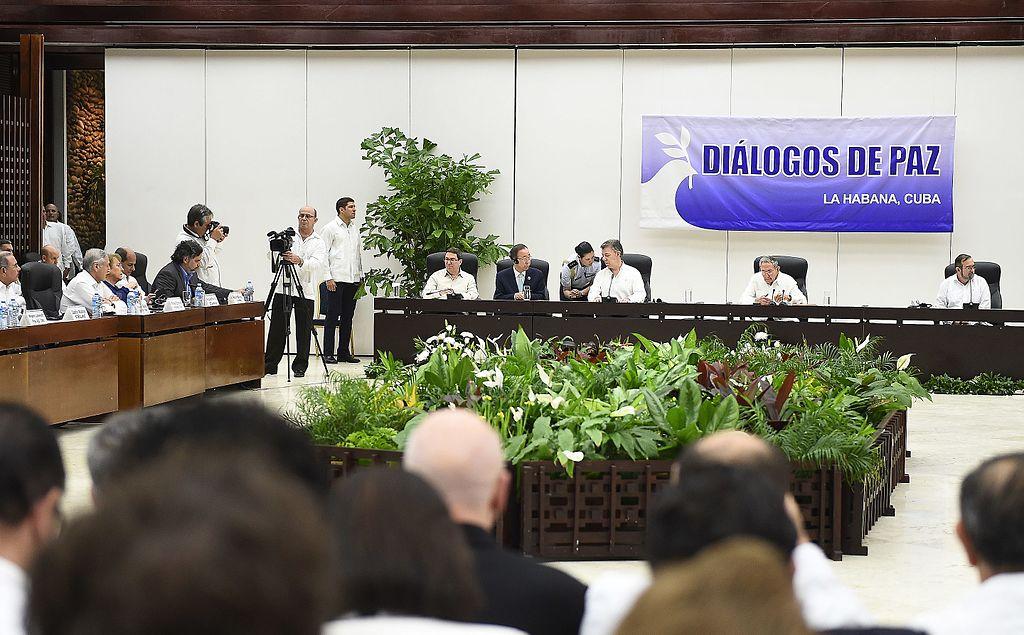 Diálogos de paz entre el gobierno del presidente de Colombia Juan Manuel Santos y las FARC