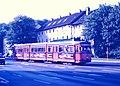 Dia von Wuppertal, GT8 3817, Mettmanner Straße - Mees.jpg
