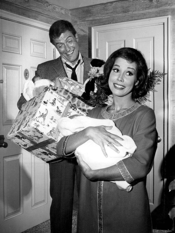 Dick VanDyke Mary Tyler Moore Dick VanDyke Show 1964