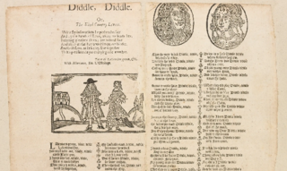 Lavenders Blue English folk song and nursery rhyme dating to the 17th century