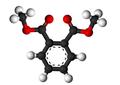 Dimethyl phthalate3D.png